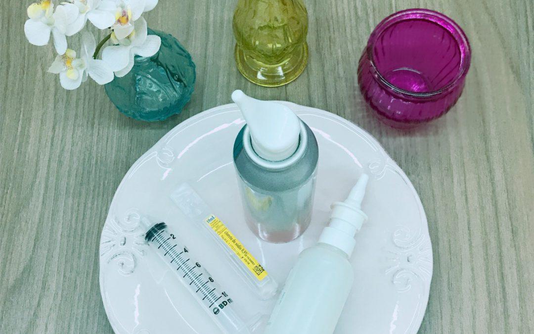 A importância da lavagem nasal com solução fisiológica